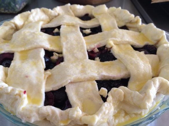 Pie: pre-bake