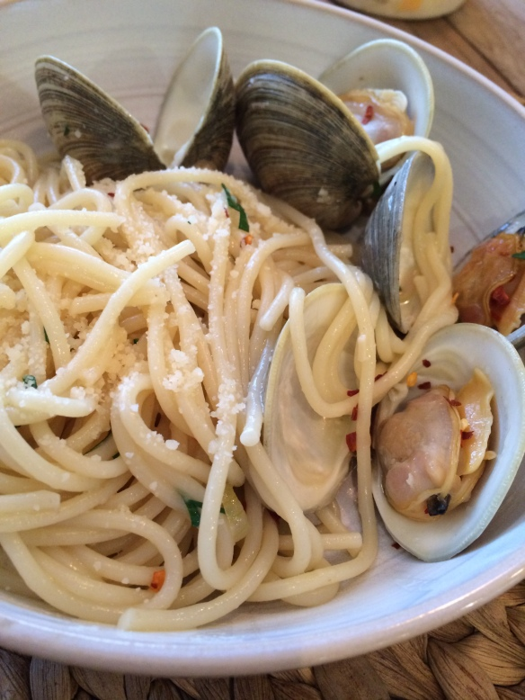 Clam Linguini